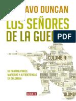 LOS SEÑORES DE LA GUERRA-GUSTAVO DUNCAN
