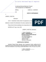 Joe Melton Notice of Attorney Appearance - Defendant 8
