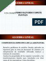 Encuadre Algebra Lin 301-A 2018