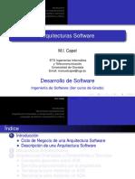 Arquitecturas Software