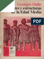 Duby Georges-hombres y estructuras de la edad media.pdf