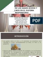 Efectos de Los Gases Ácidos y Alcalinos En