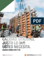 Mororola Evx-261 Series  Brochure