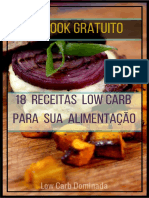 eBook Receitas Ceia Low Carb