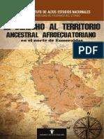 El Derecho Al Territorio Ancestral Afroe