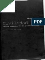 Mires, Fernando - Civilidad. Teoria politica de la posmodernidad.pdf