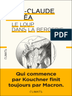 Le Loup dans la bergerie - Jean-Claude Michea.epub