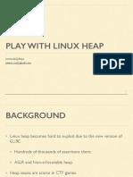 Linux Heap Internals