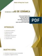 Lista de propriedades ceramicas