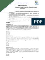 Clase 09 Trabajo Propuesto 01 Ejercicios de Valor Ganado Según Metodología PMI – PMBOK