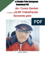 Guia Como Vender Pelo Instagram Download PDF