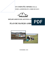 1 Plan de Manejo Ambiental
