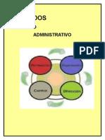 Etapas del diseño del departamento de administración