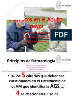 32. Farmacos en El Adulto Mayor