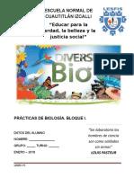 Manual de Prácticas de Biología.
