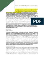 Actividad de Diferentes Formulaciones de Lipasa B de Candida Antarctica en Disolventes Orgánicos