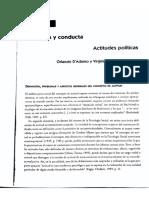 1 - Actitudes y Conducta