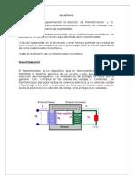Informe 2 Transformadores Monofasicos PUICAN UNMSM