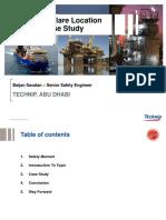 Baijan SAVALAN Abu Dhabi - Presentation Slides - Risk Based Flare Location Study