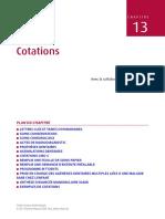 Chapitre 13 Cotations 2011 Guide Clinique D Odontologie