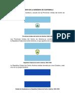 Cambios en La Bandera de Guatemala