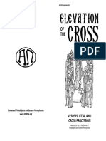 Vespers - Elevation of Holy Cross