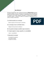 DE 2 Porter Qué es la estrategia (extracto).pdf