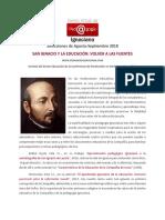 Selecciones Del CVPI de Agosto-Septiembre 2018 - San Ignacio y La Educación