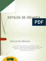 ESTILOS DE CRIANZA