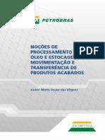 Noções de Processamento de Óleo, Estocagem e Movimentação de Produtos Acabados