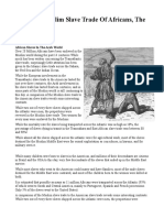 The Arab Muslim Slave Trade Of Africans, The Untold Story.pdf