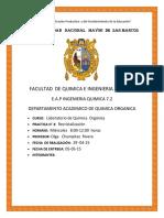 Informe de Organica n°3