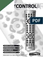 Easycontrol 8 manual