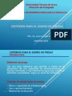 1 Criterios Diseño de Presas