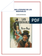 Analisis Literario de Los Miserables