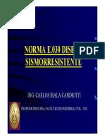 Norma e030 Diseño Sismorresistente