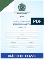 modelo para Diário de Classe EJA CAMPO pernambuco