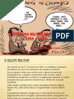A ditadura militar no brasil.ppsx
