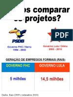 Comparativo Governo Lula x FHC.ppt