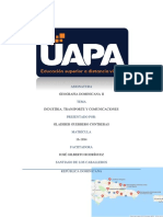Tarea IV de Geografia Dominicana II