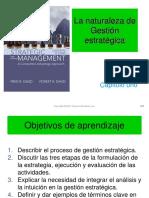 Presentciones del libro Administracion Estrtegica 14 edicion de Fred R David