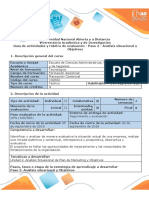 Guía de Actividades y Rúbrica de Evaluación - Paso 2 - Análisis Situacional y Objetivos(2)