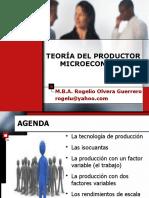 CLASE MICROECONOMÍA (LA PRODUCCIÓN CON UN FACTOR VARIABLE).ppt
