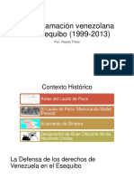 La Reclamación Venezolana Del Esequibo (1999-2013)