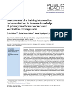 Effectiveness of a training intervention on immunization of knowledge health workers.pdf