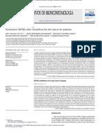 Cáncer Pulmonar Estadificación Normativa SEPAR (2011)