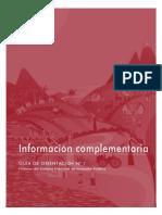 Informacion Complementaria SNIP_Modulo IX 2011