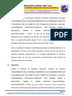 Geologia Azangaro Defens