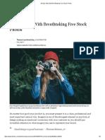 33 Epic Sites With Breathtaking Free Stock Photos.pdf