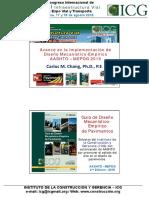 D1_Vie_F01.1_C_Chang_AVANCES EN LA IMPLEMENTACIÓN DE LA GUÍA DE DISEÑO MECANÍSTICO-EMPÍRICO MEPDG AASHTO 2015.pdf
